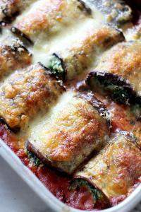 Culy Homemade: auberginerolletjes met spinazie & mozzarella — Receptenmaker