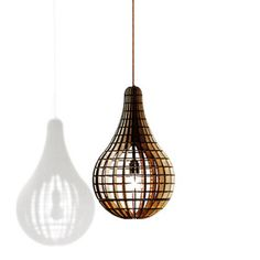 The Teardrop Lamp, 109€, now featured on Fab.
