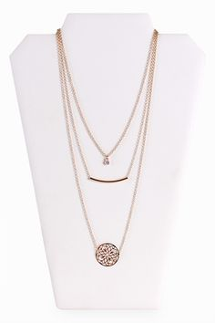 Best Of Three Layered Necklace