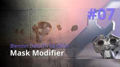 Blender Generate Modifier #07 - Mask Modifier