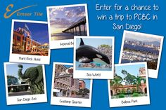 Win a #Trip for 2 from Emser Tile to #PCBC in #Sandiego! $500 spending #money & a stay at The Hard Rock Hotel in San Diego! Click Here to Enter: https://www.facebook.com/emsertile/app_513993311991799