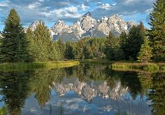 Grand Tetons, Wyoming. It would be beautiful to get married at Jenny Lake