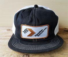 8d59187eb419c eBay. หมวกแก็ป. Vtg MacMillan Bathhurst Mesh Trucker Hat K Brand Canada Snapback  Baseball Cap