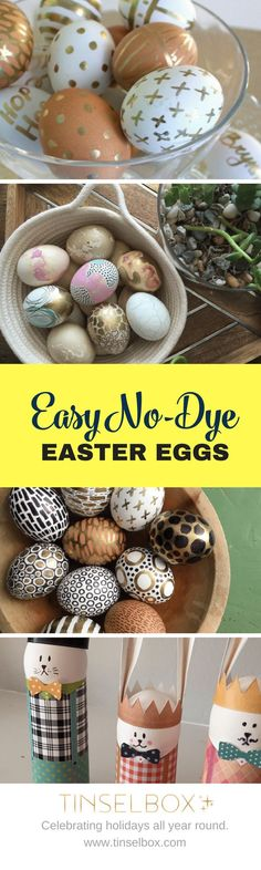 Easter Egg Design Ideas – Original and Easy