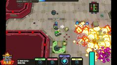 Pineapple Smash Crew [top down shooter] http://www.richmakegame.com/?page_id=399