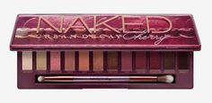 Shop Urban Decay's Naked Cherry Eyeshadow Palette at Sephora. This eyeshadow palette includes 12 cherry-hued neutrals, ranging from ivory to rose gold to black cherry. Red Eyeshadow Look, Eyeshadow Makeup, Eyeshadow Palette, Makeup Cosmetics, Eyeshadows, Sephora France, Eye Makeup Tips, Makeup Tools, Products
