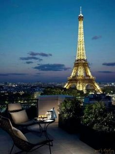 Midnight in Paris | Via ~ LadyLuxury~