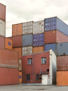 containers and abandoned warehouses