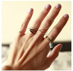 these rings look good together