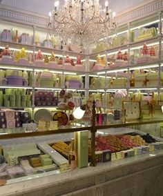 LADUREE, took my son and husband here in Cannes, what a delicious treat!