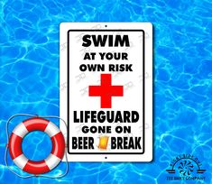 Aluminum Signs, Metal Signs, Swimming Pool Rules, Gifts For Dad, Great Gifts, Image Chart, Pool Signs, Camping Signs, Man Cave Signs