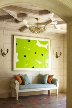 Cullman and Kravis-love that piece!! The green is magnificent!!