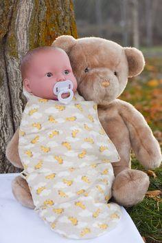 Handmade baby sleep sack baby swaddle by babykarnelyendesigns