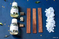Les fournitures pour des bougies parfumées à faire soi-même