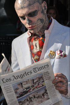 Rick, Skull Face Tattoo Guy