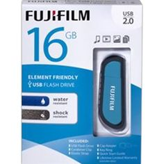 16GB USB 2.0 Water & Shock Resistant Flash Memory Drive Protects your data against accidental drops and spills. #technology #waterresistent #onetouchpoint #promo