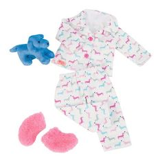 Our Generation Teckel Dog & Pyjama Counting Puppies Pj Outfit for Dolls, Inch Cute Pajama Sets, Cute Pajamas, Girl Dolls, Baby Dolls, Og Dolls, Baby Girl Toys, Girls Toys, Baby Doll Clothes, Barbie Clothes