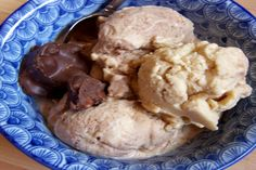 Dairy free, soy free chocolate ice cream!