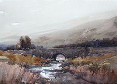 Arie Jekel | Down Stream | Watercolour