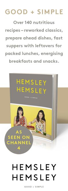 Good + Simple, Jasmine and Melissa Hemsley's second cookbook with 140 delicious recipes free from grains, gluten and refined sugar. Melissa Hemsley, Hemsley And Hemsley, Paleo Recipes, Cooking Recipes, Delicious Recipes, New Tv Series, Healthy Drinks, Healthy Food, Books To Read