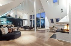 Extraordinary penthouse in Stockholm
