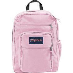 """JanSport Big Student Backpack 17.5"""" Pink Mist JanSport Everyday Backpacks"""