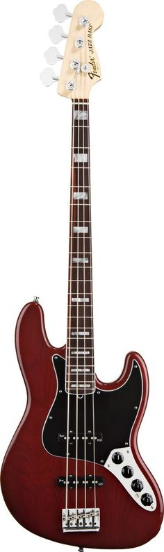 Fender American Deluxe Ash Jazz Electric Bass