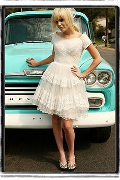 1950's wedding dresses
