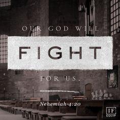 Nehemiah 4:20