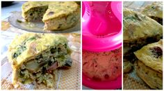 ● Two Fingers of Healthline ●: TUPPER-QUICHE