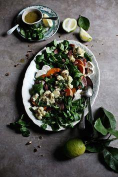 Pratos e Travessas: Uma saborosa salada de Inverno # A tasty Winter salad…
