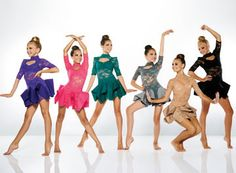 Kelle dance costumes kids jazz