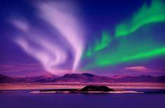 Con la llegada del invierno las auroras boreales iluminan el Círculo Polar Ártico. ¡No te pierdas las fotos!
