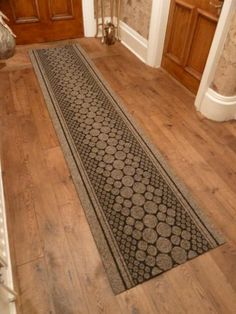 cork brown hallway carpet runner