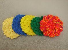 Puff Stitch Scrubbie Pattern