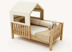 Ameise Design | São Paulo Baby Bedroom, Kids Bedroom, Baby Play House, Montessori Bed, Kid Beds, Small Rooms, Kids Decor, Kids Furniture, Toddler Bed