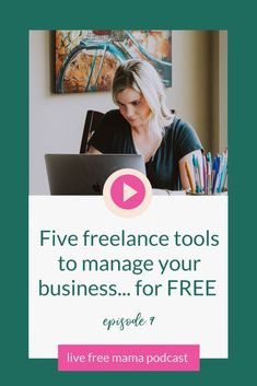 Five online business tools to manage your freelance business for free. How to start and build your virtual assistant business with free tools. Marketing and productivity tools for work at home moms. Online Business From Home, Online Work From Home, Work From Home Moms, Home Based Business, Business Tips, Online Entrepreneur, Business Entrepreneur, Virtual Assistant Services, Time Management Tips