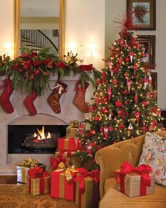 From the Southern Lady family to yours, we wish you a very Merry Christmas filled with happy tidings and joy abundant. Beautiful Christmas Trees, Elegant Christmas, Very Merry Christmas, All Things Christmas, Christmas Time, Christmas Scenes, Christmas Fireplace, Christmas Mantels, Christmas Wreaths