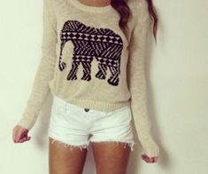Like the top but the shorts are WAY too short... just a little longer and I could pull this off ;)