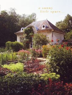 oh, just another perfect English cottage surrounded by a perfect English country garden.  :)