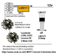 CONSTANT CURRENT DRIVES TWO 3WATT LEDs By Collin Mitchell - 30 LED Project.