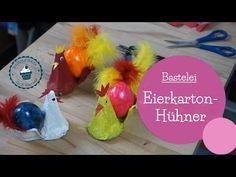 Basteln für Ostern | Eierkarton-Hühner | DIY Bastelanleitung | egg carton easter craft | mommymade - YouTube