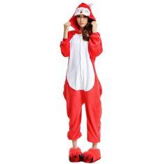 LATH.PIN Unisex Costume Animal Cosplay Onesie Adult Pajamas Anime... (18 AUD) ❤ liked on Polyvore featuring comic book