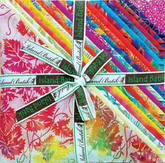 Click to enter to win this Island Batik Stack Pack Sunkist #PinToWin #PTW #Quilt #Fabric #Batik