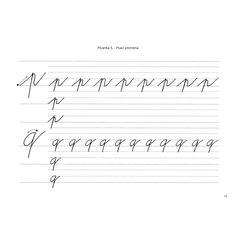 Písanka V. Psací písmena - chytry-skolak.cz Sheet Music, Math Equations, Music Score, Music Notes, Music Sheets