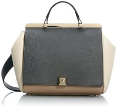 FURLA Cortina Small/Medium Top Handle Shoulder Bag, Mist/Caramello, One Size.