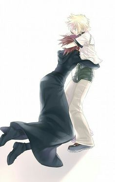 Axel and Roxas. I could see this happening.