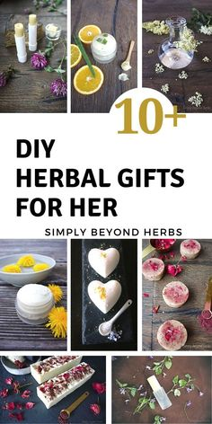 There are many advantages of homemade gifts. One is personalizing what goes into it. By using your creativity, fantasy and time you can make something unique that will have its own story and will be remembered. #herbalgifts, #lastminutegifts, #inexpensivegifts, #diychristmasgifts, Healing Herbs, Medicinal Herbs, Natural Healing, Herbal Remedies, Natural Remedies, Diy Beauty Tutorials, Vegan Recipes Plant Based, Natural Beauty Recipes, Diy Baby Gifts