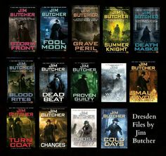 The Dresden Files - my favorite book series, I could reread it almost every year <3 Harry!
