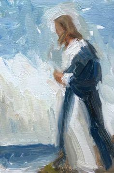 Jesus Christ Painting, Jesus Art, Lds Art, Bible Art, Bible Doodling, Pictures Of Jesus Christ, Christian Artwork, Religious Art, Bible Illustrations